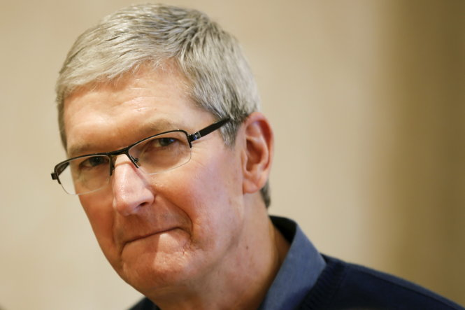 tong giam doc apple tim cook - anh: reuters