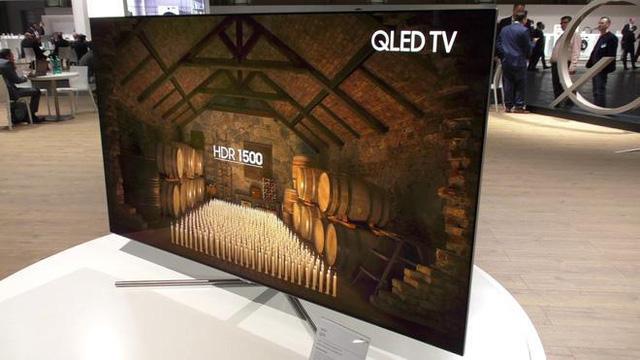 chiec tv qled day tinh xao, sac net cua samsung electronics.