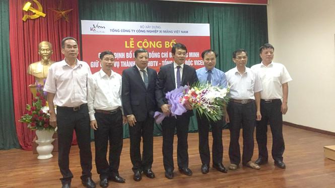Thay Tổng giám đốc Tổng công ty Xi măng Việt Nam