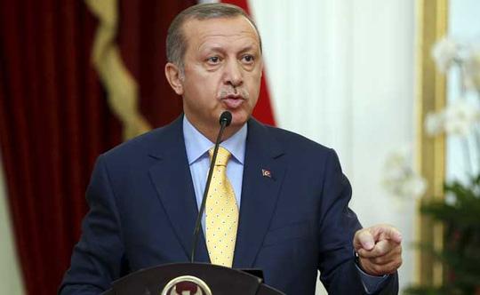 tong thong tho nhi ky recep tayyip erdogan. anh: ndtv