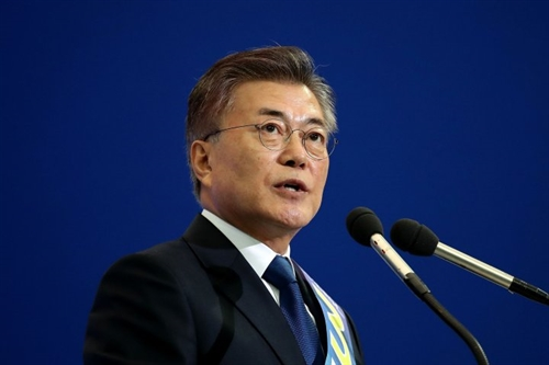 tong thong han quoc moon jae-in. anh: time