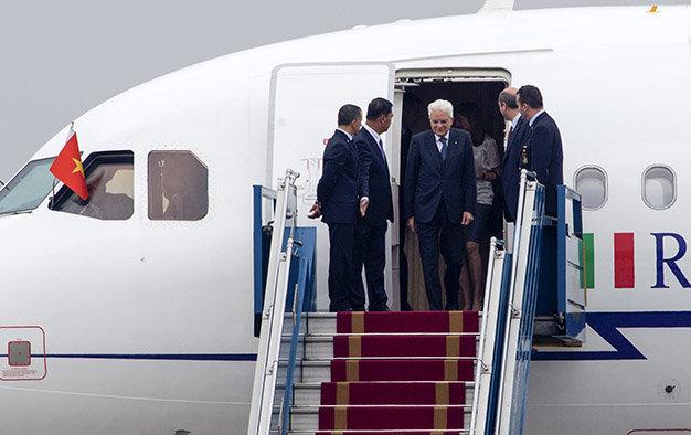 Tổng thống Italia thăm Việt Nam