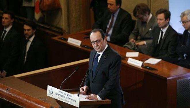 """Tổng thống F.Hollande: Kinh tế Pháp đang thực sự """"bết bát"""""""