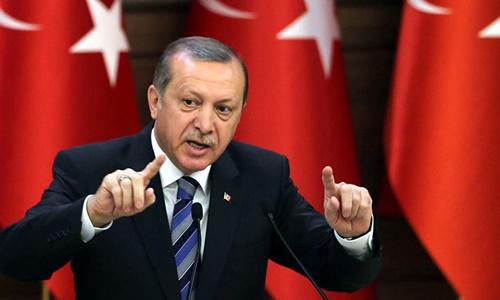 tong thong tho nhi ky recep tayyip erdogan. anh:turkish presidential press office