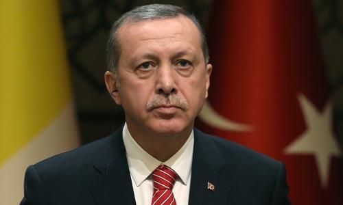 tong thong tho nhi ky erdogan. anh:ap