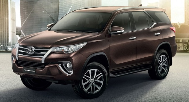 toyota fortuner la mau xe an khach nhat hien nay.