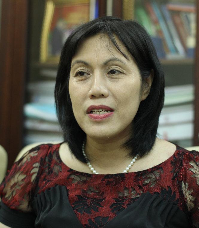Bà Trần Thị Hồng Phương - Ảnh: NGUYỄN KHÁNH