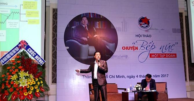 Ông Trần Kim Thành hé lộ 'chuyện bếp núc' từ Kinh Đô lên KIDO