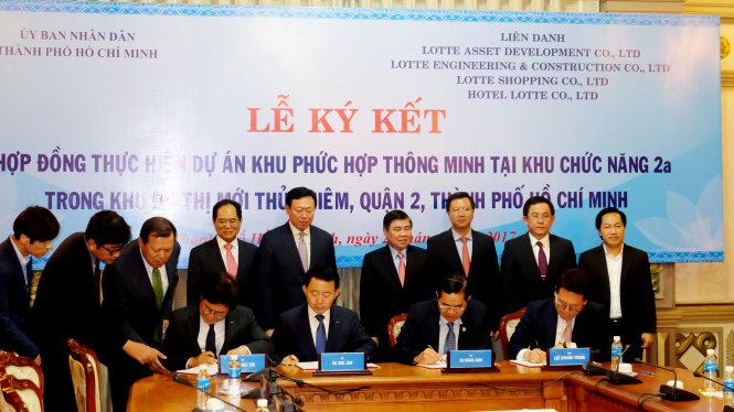 le ky ket hop dongthuc hien du an khu phuc hop thong minh (eco - smart city)