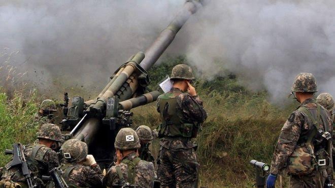 Căng thẳng Hàn Quốc - Triều Tiên ngày 22-08-2015