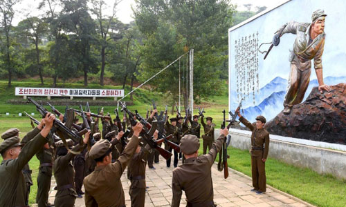 Căng thẳng Hàn Quốc - Triều Tiên ngày 24-08-2015