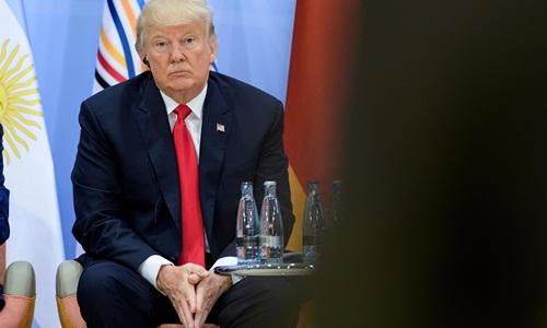tong thong my donald trump van giu cac quan diem rieng ve thuong mai va bien doi khi hau tai hoi nghi g20. anh:afp.