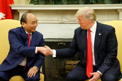 Ông Trump mong chờ chuyến thăm Việt Nam vào tháng 11