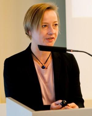 Giáo sư Liselotte Odgaard từ Đại học Quốc phòng hoàng gia Đan Mạch. Ảnh: Fiia