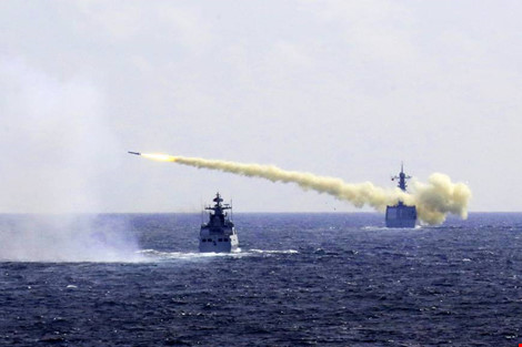 Trung Quốc tập trận ở Hoa Đông