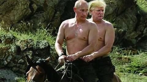 Truyền thông Mỹ cáo buộc Putin hối lộ Trump 1000 tỷ USD