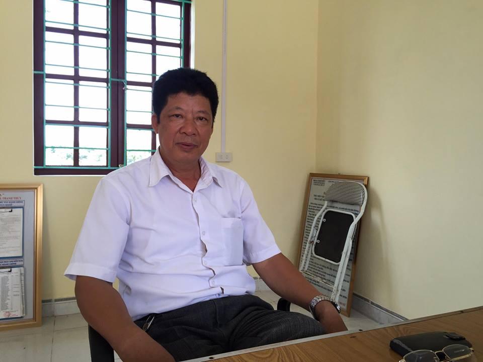 ong pham van khanh, pho chu tich xa thanh thuy: viec xuat khau vai di my, chau au, uc moi chi phu thuoc vao mot doanh nghiep thu mua.