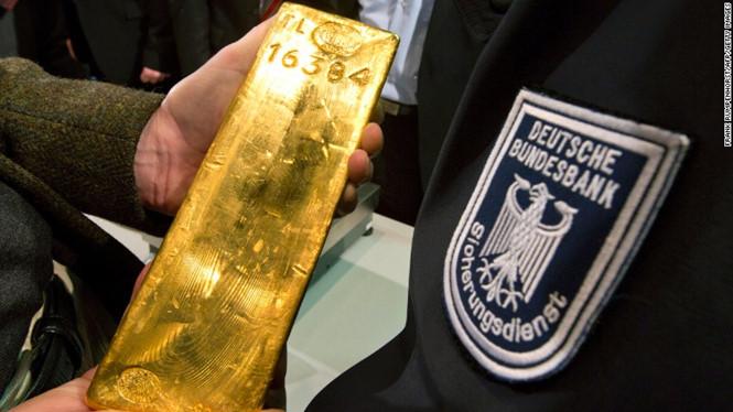 Đức vừa hồi hương 31 tỉ USD vàng từ Paris và New York /// Ảnh: AFP