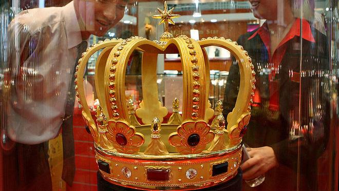 Trung Quốc tiến dần đến vị trí thống trị giá vàng toàn cầu