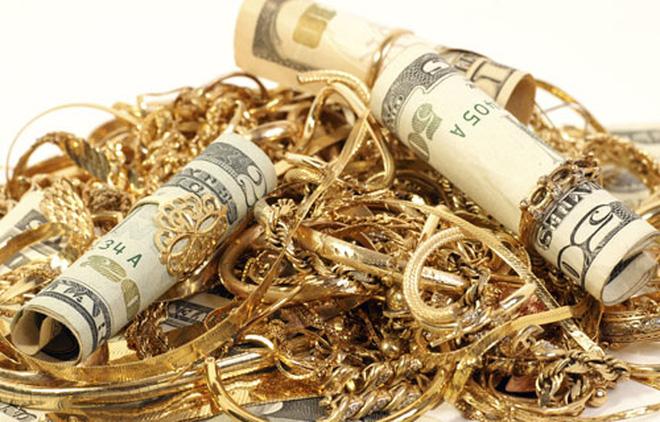 Giá vàng trong nước nhảy vọt