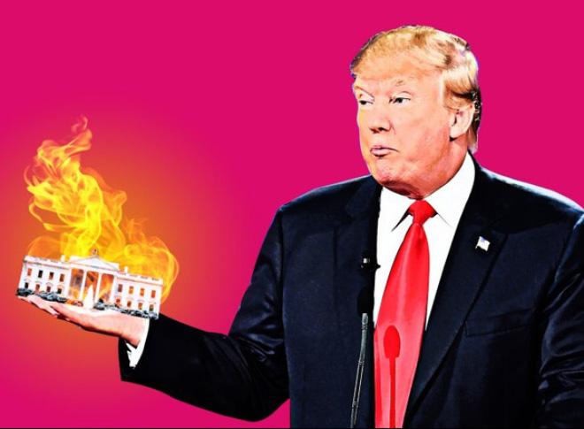 """Viễn cảnh ảm đạm và dự báo về """"ngày tàn"""" của Donald Trump"""