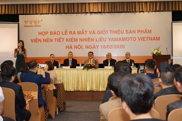 Lễ ra mắt và giới thiệu sản phẩm: Viên nén tối ưu hóa động cơ và tiết kiệm nhiên liệu Yamamoto tại Việt Nam