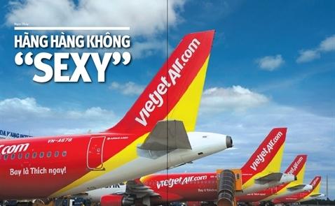 Hãng hàng không 'sexy'