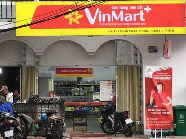 vingroup hien dang dieu hanh chuoi cua hang tien loi lon nhat tai viet nam, vinmart+. nguon: asia.nikkei.com
