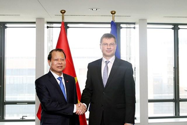 Châu Âu đang hoàn tất việc công nhận Việt Nam là nền kinh tế thị trường