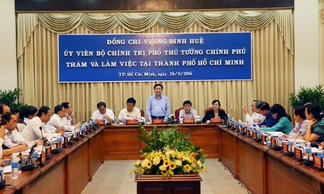 Xem xét cơ chế đặc thù cho TP Hồ Chí Minh
