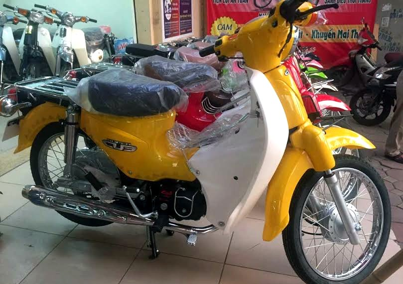 xe 50 phan khoi khong can giay phep lai xe, nen mua cho hoc sinh, sinh vien rat phu hop.