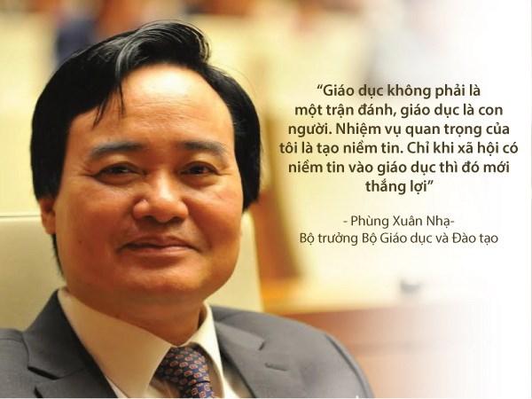 10 phát ngôn ấn tượng của Bộ trưởng Phùng Xuân Nhạ