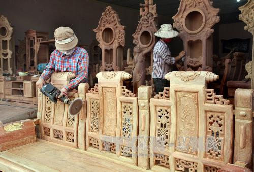 8 tháng đầu năm 2018, mặt hàng gỗ và sản phẩm xuất siêu trên 4 tỷ USD
