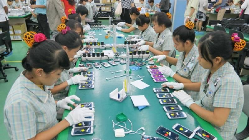 Xuất khẩu điện thoại và linh kiện của Việt Nam đi nước ngoài đang có chiều hướng giảm