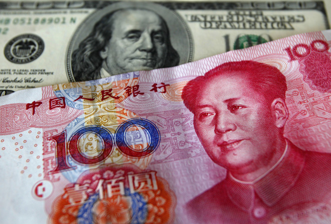 Trung Quốc tăng tỷ giá mạnh nhất 4 tháng